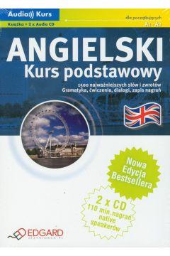 Angielski - Kurs Podstawowy +CD  EDGARD