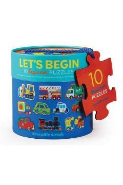Puzzle 20 el. Pojazdy