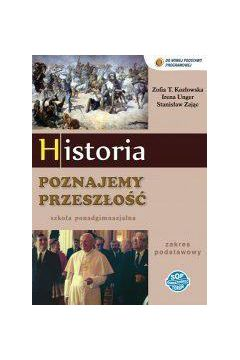 Historia LO Poznajemy przeszłość ZP podręcznik SOP