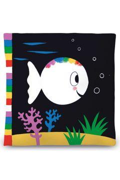 Moja pierwsza biała rybka książeczka sensoryczna