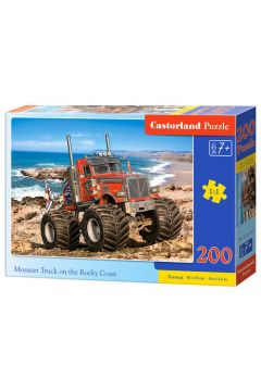 Puzzle 200 Monster Truck CASTOR