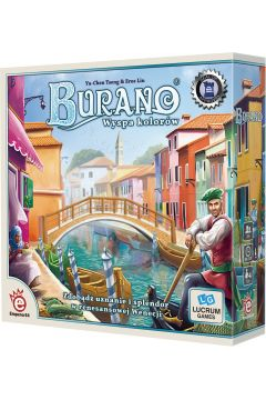 Burano: Wyspa Kolorów. Gra planszowa