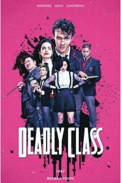 Deadly Class. Tom 1 (okładka filmowa)