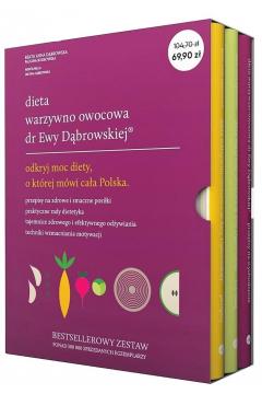 Pakiet: Dieta warzywno-owocowa dr Ewy Dąbrowskiej