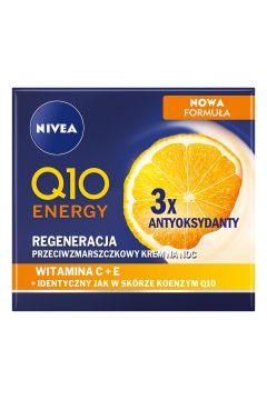 Krem przeciwzmarszczkowy na noc Q10 Energy