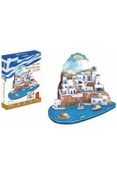 Puzzle 3D Santorini 129