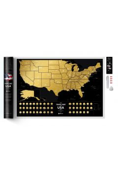 Mapa zdrapka usa travel map black usa