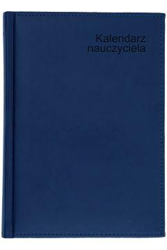 Kalendarz nauczyciela B5 2021/2022 tyg. granatowy