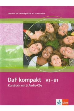 DaF Kompakt A1-B1 Kursbuch +AudioCD(3)