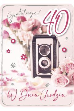 Karnet Urodziny 3 GM-687