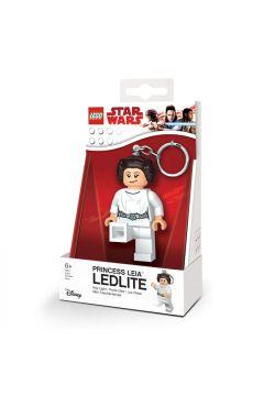 Brelok do kluczy z latarką Księżniczka Leia