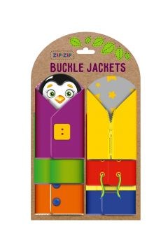 Gra edukacyjna Buckle Jackets RZ3001-01