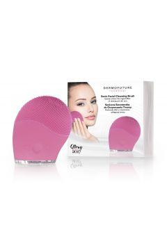 Sonic Facial Cleansing Brush szczoteczka soniczna do oczyszczania twarzy różowa