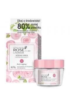 Różany krem odmładzający do twarzy