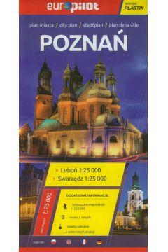 Poznań plan miasta 1:25 000 Europilot/plastik