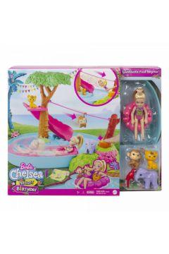 Barbie Chelsea Wakacyjna przygoda w basenie