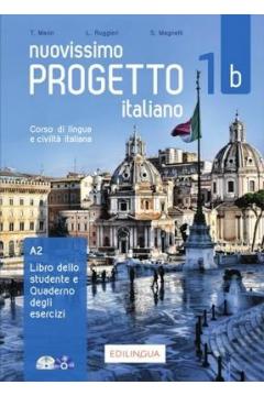 Nuovissimo Progetto italiano 1b A2. Podręcznik + Zeszyt ćwiczeń + CD