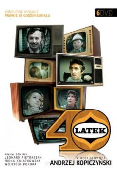 40-latek. 6 DVD