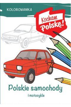 Kolorowanka Polskie samochody