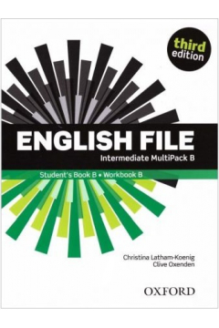 English File 3rd edition. Intermediate. Student's Book/Workbook MultiPack B
