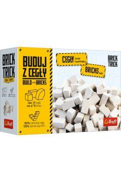 Brick Trick Refil. Cegły zamkowe białe, 70 elementów