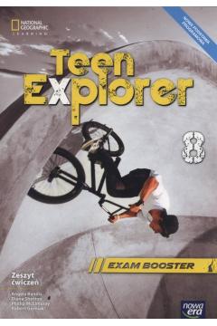 Teen Explorer 8. Zeszyt ćwiczeń. Język angielski. Szkoła podstawowa