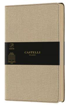 Notatnik 13x21cm linia Castelli Harris Desert Sand