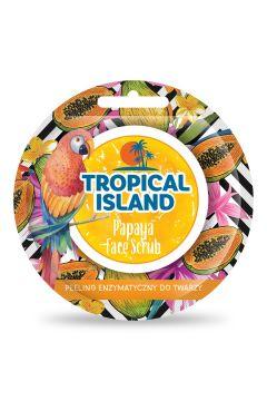 Tropical Island Face Scrub peeling enzymatyczny do twarzy Papaja