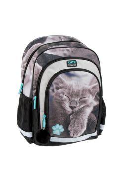 Plecak szkolny Kitty Sepia
