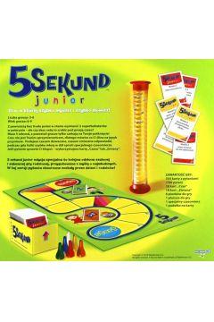 5 sekund junior. Edycja Specjalna 2.0. Gra familijna