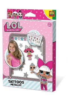 L.O.L. Surprise! Metaliczne tatuaże