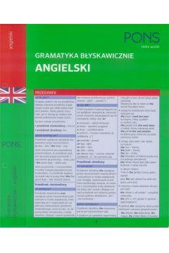 Gramatyka błyskawicznie. Angielski PONS