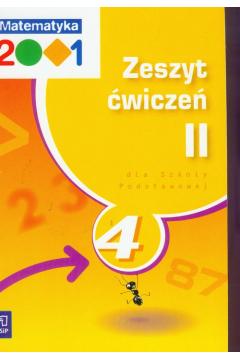 z.Matematyka SP KL 4. Ćwiczenia część 2 Matematyka 2001 (stare wydanie)