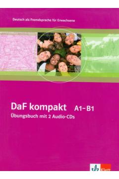 DaF kompakt A1-B1 Ubungsbuch mit 2 Audio-CDs
