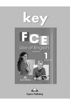 FCE Use of English 1 Answer Key