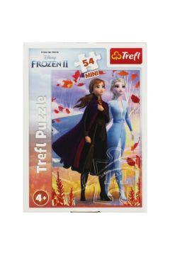 Puzzle 54 mini W świecie Anny i Elsy 2 TREFL