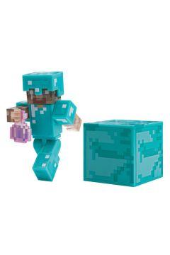 Minecraft. Steve z eliksirem niewidzialności