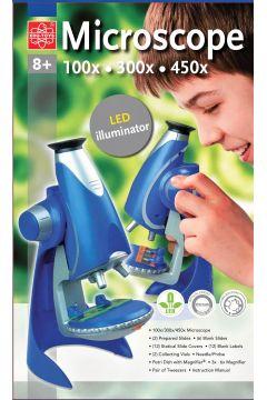 Edu - Mikroskop 100x 300x 450x