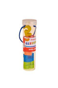Cyferki drewniane 10 elementów tuba  SMILY PLAY AC7343