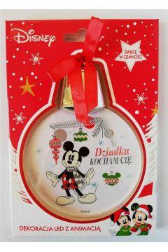 Zawieszka LED Mickey - Dziadku, Kocham Cię