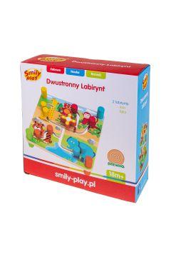 Układanka drewniana Labirynt 2str. 22X8X22 PLX PUD SMILY PLAY AX7326  AN
