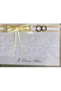 Karnet ślubny B6 Premium 56 + koperta