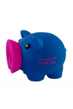 Skarbonka Świnka I'm Hungry! niebieska MAPED