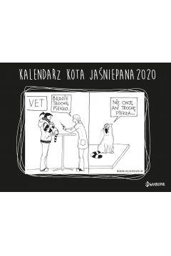 Kalendarz 2020 Biurkowy Kota Jaśniepana