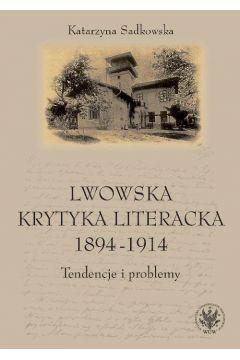 Lwowska krytyka literacka 1894-1914