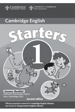 Cambridge Young Learners English Tests Starters 1 Answers Booklet