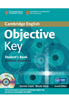 Objective Key Student's Book without answers + Practice tests booklet + CD