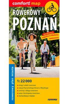 Rowerowy Poznań Rowerowy plan miasta 1:22 000