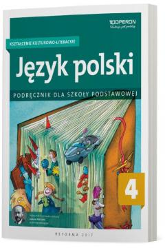 Język polski 4. Kształcenie kulturowo-literackie. Podręcznik dla szkoły podstawowej