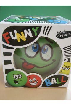 Mega Creative Funny Ball 10cm /zielona z językiem